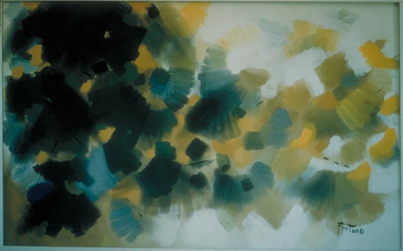 acrylic on canvas, 1964