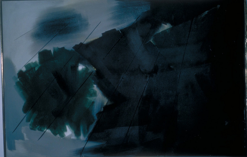 acrylic on canvas, 1967 (shown in Darmstadter Secession)