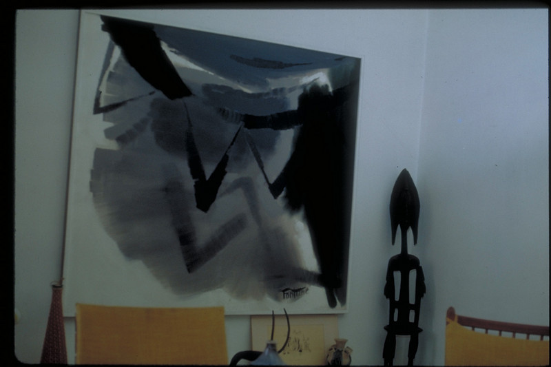 acrylic on canvas, 1968 (Shown in Darmstadter Sezession Show 1968)