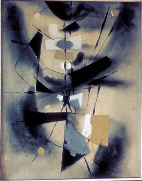 acrylic on  canvas, 1964 (Karl Stroher Collection)