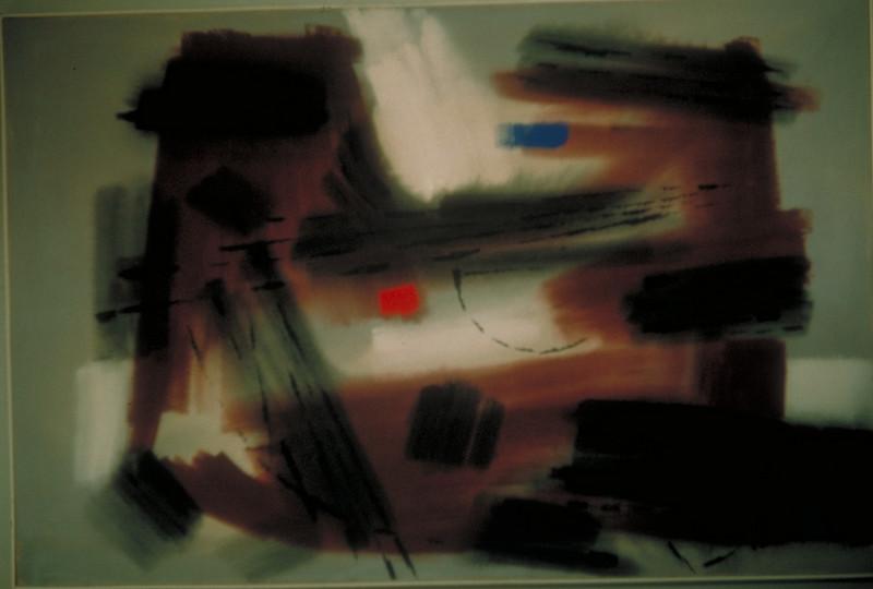 acrylic on canvas, 1963