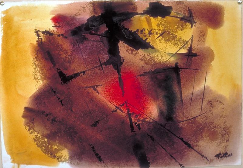 22 x 28, watercolor, 1970