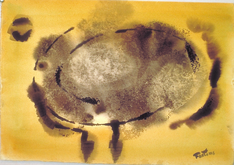 22x28, watercolor, 1970