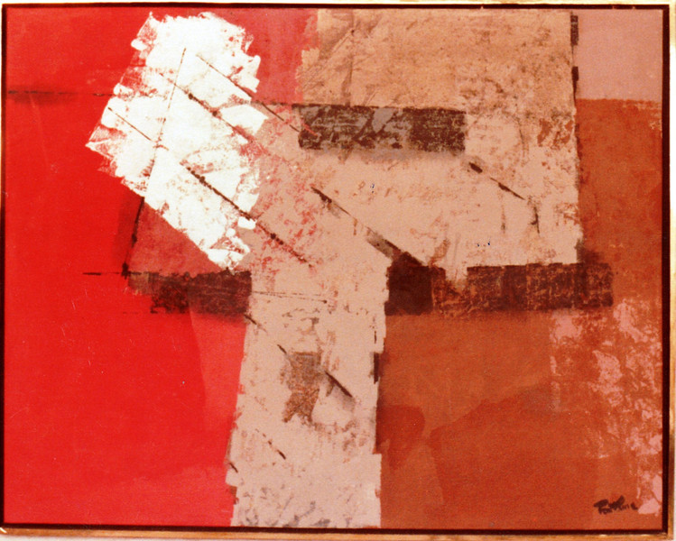 Untitled, 1983. Acrylic on canvas, 50 x 58 in. Collection Pedro Fernandez, Guadalajara, Mexico.