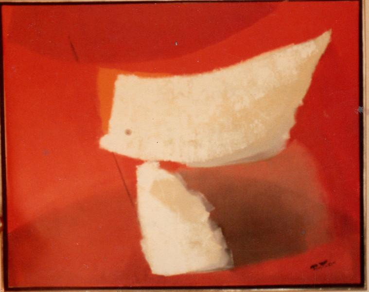 Fig 330 Homage to Praxitales, 1981. Acrylic on canvas, 47 x 60 in. Collection Juan Carlos Romero, Guadalajara, Mexico