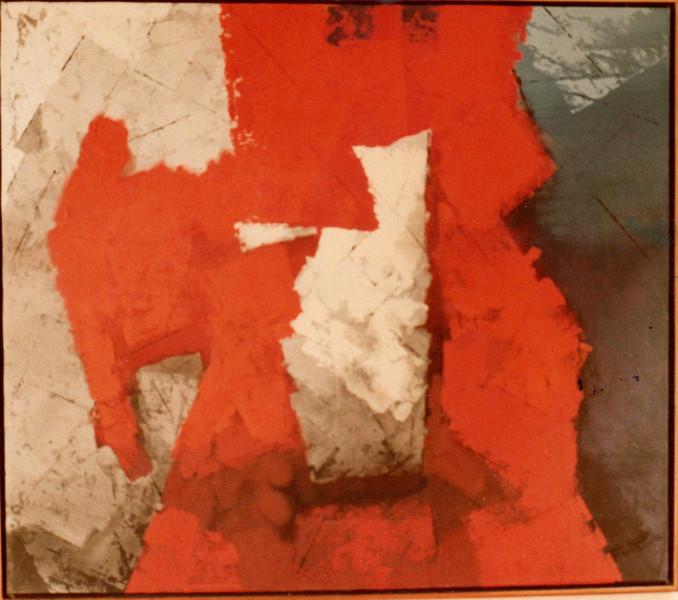 Untitled, 1984. Acrylic on canvas, 55 x 62 in. Collection Pedro Fernandez, Guadalajara, Mexico.