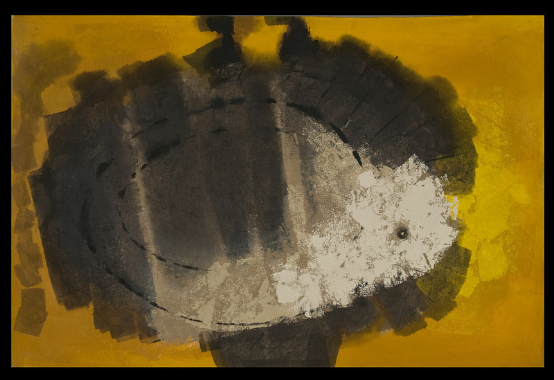 """1982, Mexico, Untitled-variation of """"Tortoise"""" (61 x 41)"""