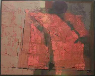 "1983, Guadalajara, Mex. ""Sarabande IV"", acrylic on canvas (Collection Marguiles)"