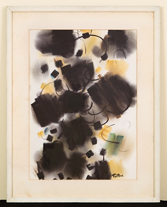 Untitled, c. 1961, Watercolor, 20 3/4 x 26 1/2 in.