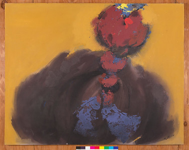 Gordo, 1992, Acrylic on canvas, 48 x 59 in.