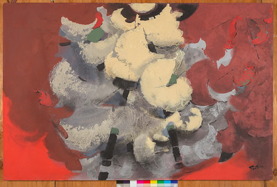 Mante, 1992, Acrylic on canvas, 41 x 60 in.
