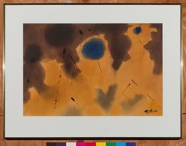 Algodonal, c.1986, Watercolor, 15 x 22 in.