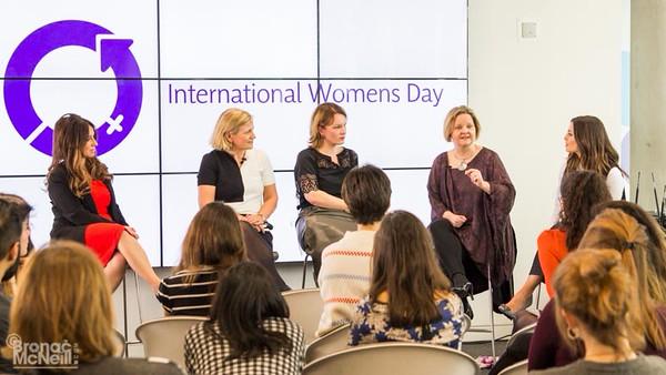 International Women's Day at AMV BBDO, 11Mar2016, photographer Bronac McNeill