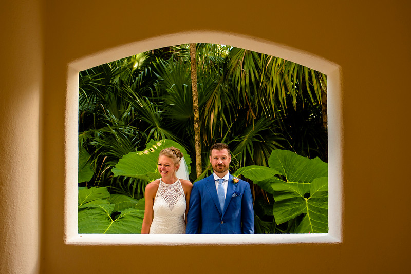 Kasia and Matt´s Wedding at Secrets Maroma