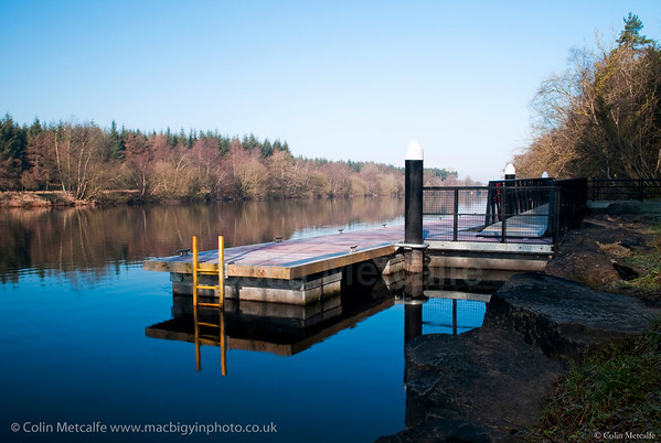 Boat Dock viewed from Portglenone Forest