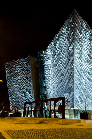 The new Titanic Building in Belfast