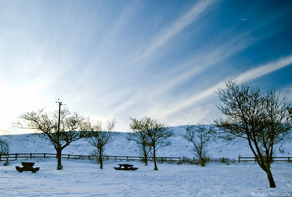 Amazing sky over the Snowy Glens