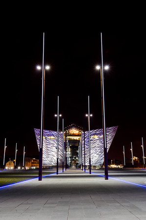 The new Titanic Building in Belfast