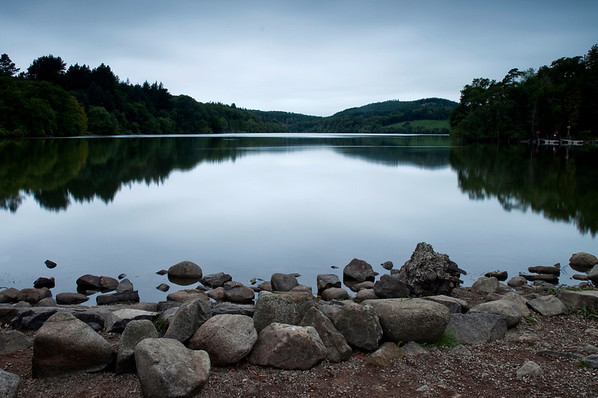 Castlewellan Lake at dawn