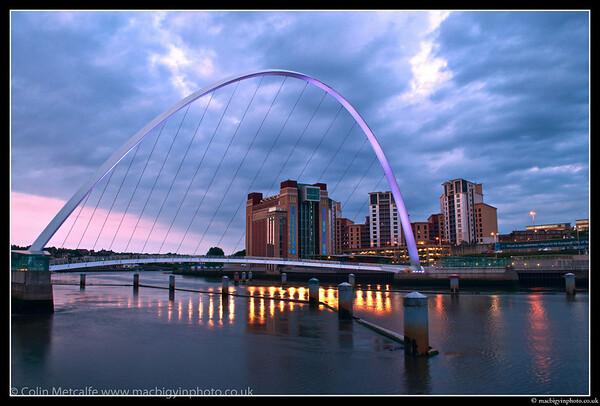 Millenium Bridge, Quayside, Newcastle Upon Tyne