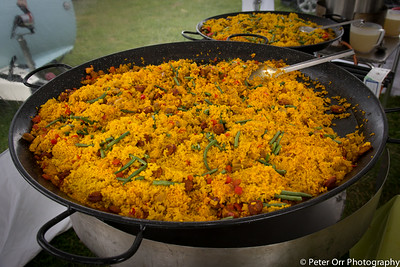 Paellas are looking good