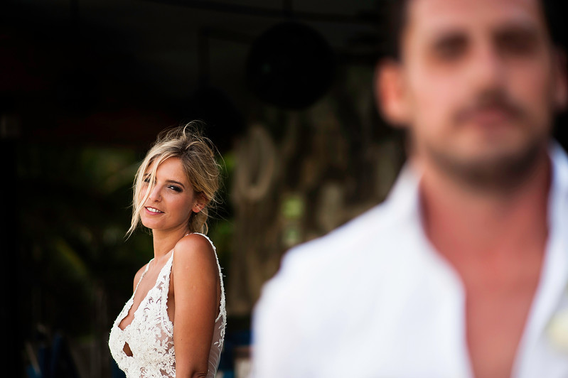 Luli and Marcelo´s wedding in Playa del Carmen, Mexico