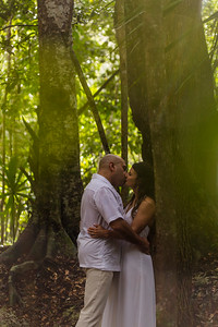 Monica and Joel´s Trash the dress in Cancun