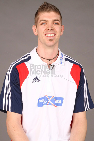 Olympic hopeful Matt Roberts, one of Great Britain's most promising high jumpers