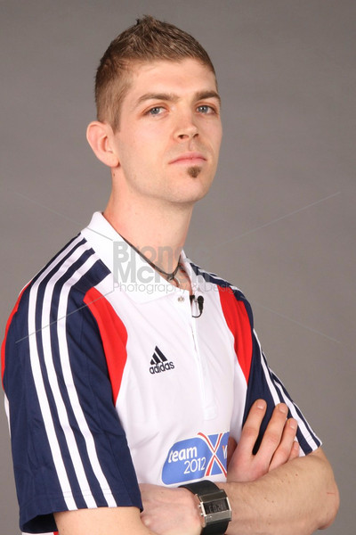 Olympic hopeful Matt Roberts, one of Great Britain's most promising high jumpers.
