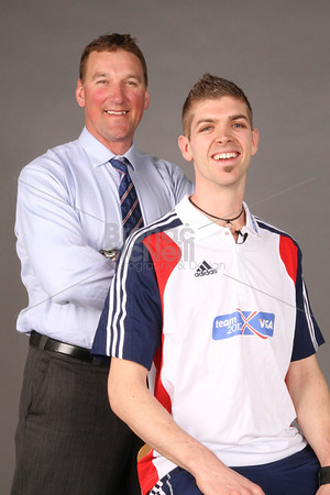 Matt Pinsent & Matt Roberts, at Team 2012 visit Northcliffe House