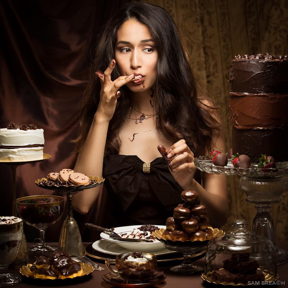 Chocolate Indulgence by Sam Breach 2015