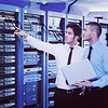 it enineers in network server room