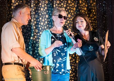 Robert Sansom, Lidia Webb and Joy Sansom