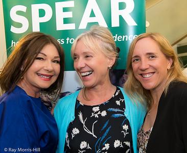 Joy Sansom, Lidia Webb and Heidi Shrimpton