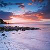 Sunset viewed from Portmuck, Islandmagee