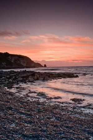 Sunset from Portmuck Beach
