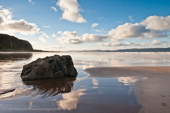 A view from Downhill Beach, looking back towards Benone.