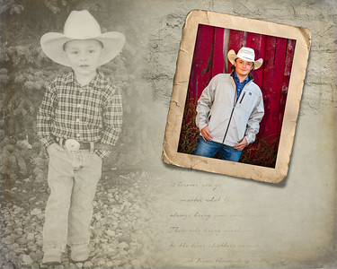 Little Trace collage