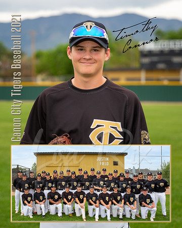 Timothy Connor CCHS Baseball Memory Mate_