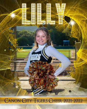 Lilly Cheer Individual 8x10