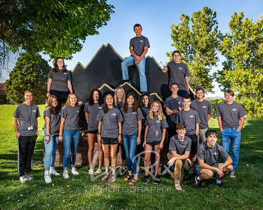 CCHS Cross Country Team 2020-2