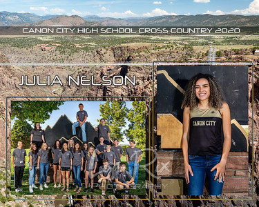 Julia Nelson CCHS XCountry 2020