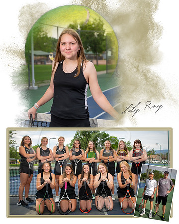 Lily Roy Tennis Memory Mate 2021
