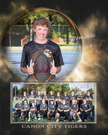 Dominic Bosco Tennis Memory Mate