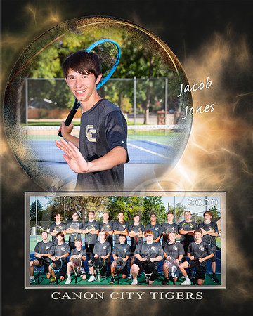 Jacob Jones Tennis Memory Mate