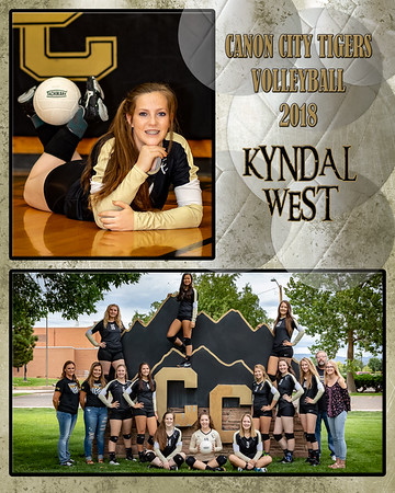Kyndal West Varsity VB Memory Mate 2018