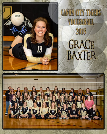 Grace Baxter VB Memory Mate 2018