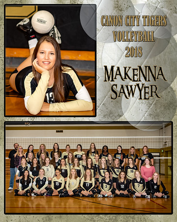 Makenna Sawyer VB Memory Mate 2018