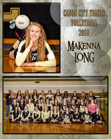 MaKenna Long VB Memory Mate 2018