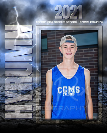 Hyrumn Pontious  CCMS XCountry Individual 8x10